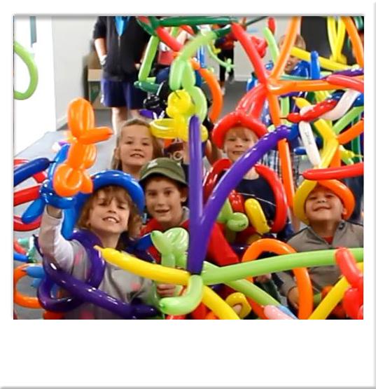 Birthday Party Ideas Balloon Animal Twisting Houston TX Magic